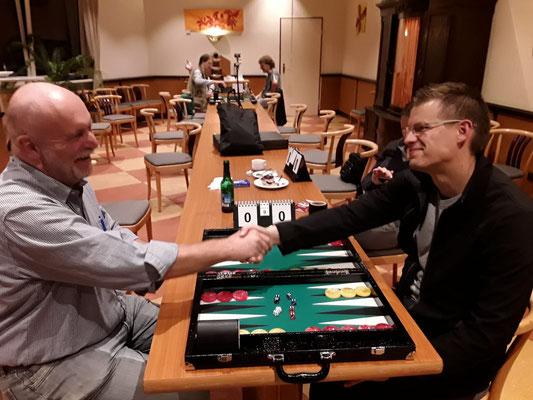 Helmut gegen Eric im Finale