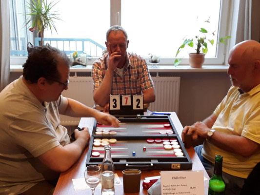 Vitali gegen Helmut im Halbfinale