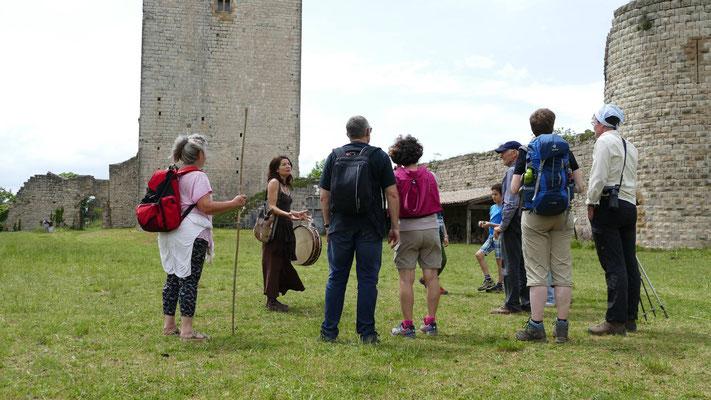 """Visite """"sur les traces des troubadours"""" avec Myliame"""