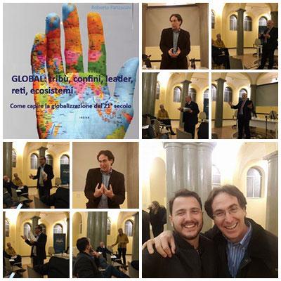 Presentazione di Global a Roma da Moby Dick (edizioni Palinsesto) Con l'autore sono intervenuti Alfono Molina (Fondazione Mondo Digitale) Gianni Palumbo (portavoce Forum Terzo Settore Lazio) Gianfranco Cat