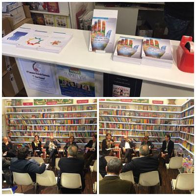 Presentazione di Global a Roma presso la libreria testaccio con Edizioni Palinsesto