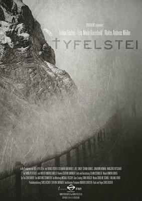 """Design vom Filmplakat für """"Tyfelstei"""" (2014)"""