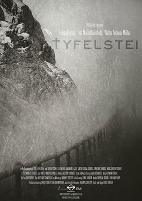 """Design und Fotografie vom Filmplakat für den Schweizer Film """"Tyfelstei"""" (2014)"""
