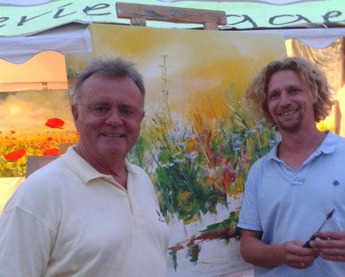 Landeshauptmann Hans Niessl & Martin Egger
