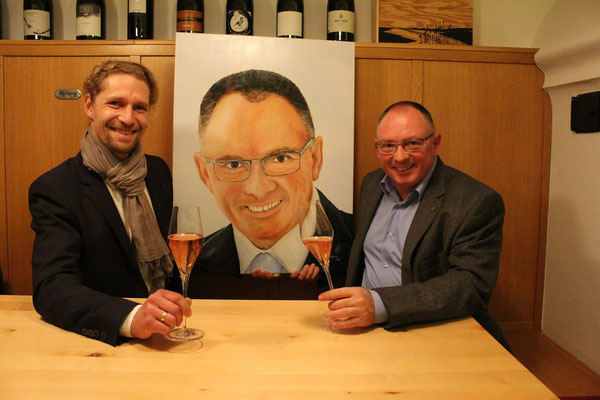Peter Szigeti Winzer u. Gastronom & Martin Egger