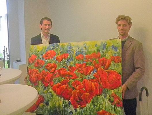 Hr. Außenminister Sebastian Kurz & Egger M.