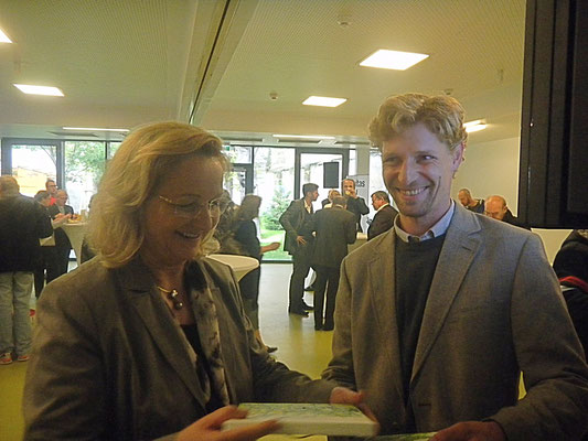 Fr. Finanzministerin Fekter & Egger M.
