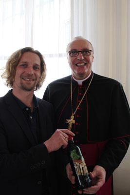 Burgenlands Bischof Ägidius Zsifkovits & Martin Egger April 2016