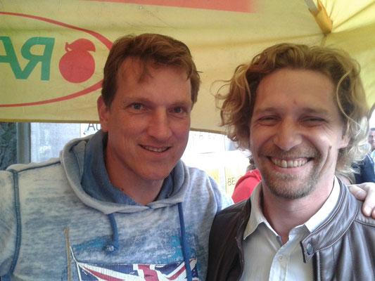 """Fussballgott"" Andreas Herzog & Martin Egger"