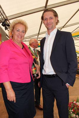 Landesrätin Vera Dunst & Martin Egger