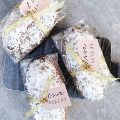 Mini Stollen with Special Christmas wrapping!