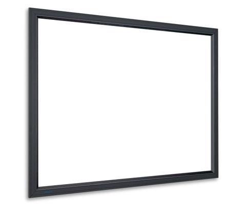 HomeScreen Deluxe - hochwertige Rahmenprojektionswand mit schwarzem Samtrahmen - Projecta