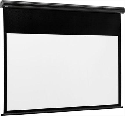 BlackLine Electric - Motorprojektionswand mit schwarzem Rand - Euroscreen Draper