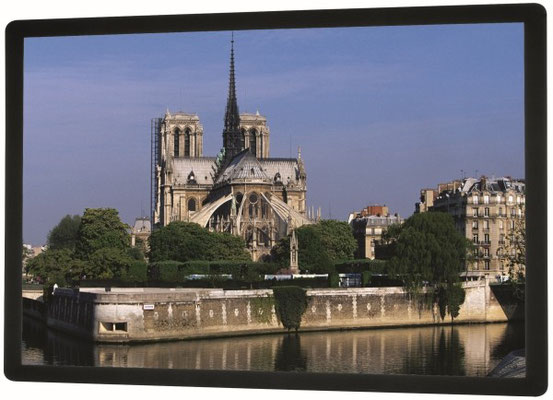 Series 300 - robuste Rahmenbildwand bis 27m Breite - gerade - Projecta