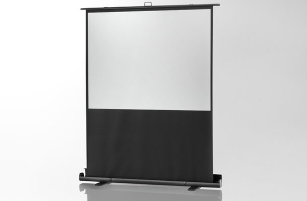 Ultramobil Plus Professional - ultramobile und formschöne Projektionswand im Aluminiumkoffer (blitzschneller Aufbau) - Celexon
