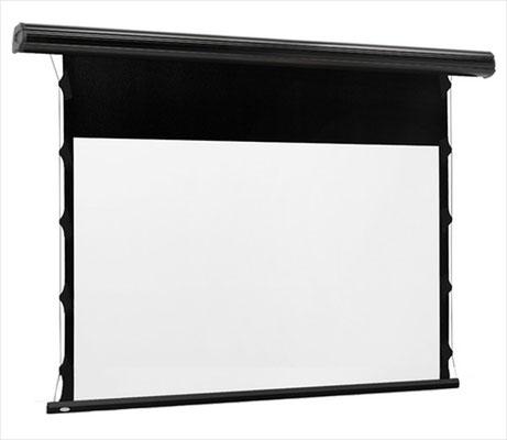 BlackLine Tab Tension - Motorbildwand mit schwarzem Rand und Tab-Tension-System - Euroscreen Draper