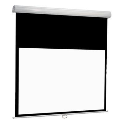 Diplomat Manual - felxible Projektionswand mit Nutenkanal - Euroscreen Draper