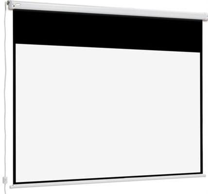 Connect Electric - elektrische Projektionswand mit schwarzem Rand - Euroscreen Draper