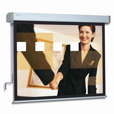 Hapro Manual - Leinwand mit Kurbel zur Bedienung - Projecta