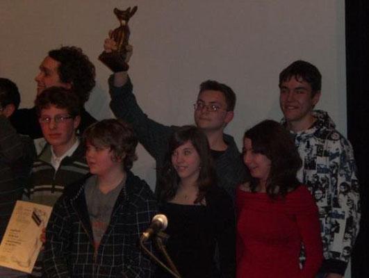 """2007: Unser Kurzfilm """"Die zeitreisenden Lottozahlen"""" gewann einen Filmpreis!"""