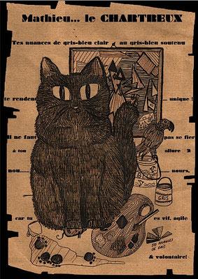 gegene the cat garde de chats paris. Black Bedroom Furniture Sets. Home Design Ideas