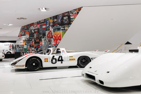 Porsche 908 LH, Musée Porsche - Exposition Colours of Speed, 50 Jahre Porsche 917