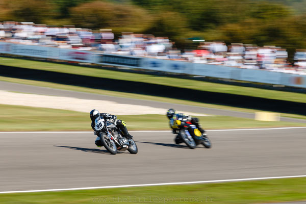 Sam Clews / Peter Hickman, Norton Manx 30M, Barry Sheene Memorial Trophy - Goodwood Revival 2019
