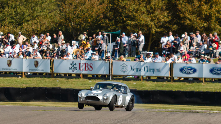 Philip Kadoorie / Mario Franchitti, AC Cobra, RAC TT - Goodwood Revival 2019