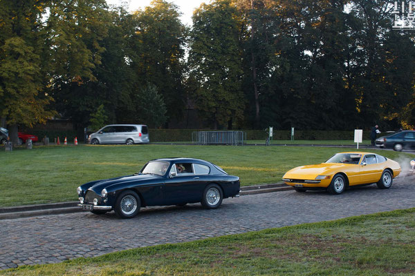 Aston Martin DB2 & Ferrari 365 GTB/4 Daytona