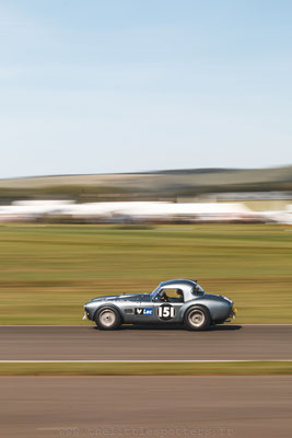 Brendon Hartley / Joe Twyman, AC Cobra, RAC TT - Goodwood Revival 2019