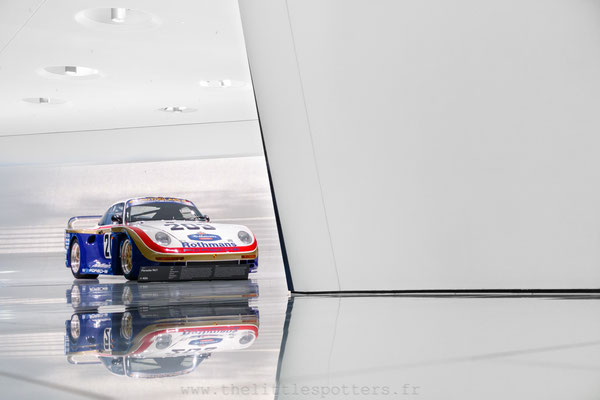 Porsche 961, Musée Porsche - Exposition Colours of Speed, 50 Jahre Porsche 917