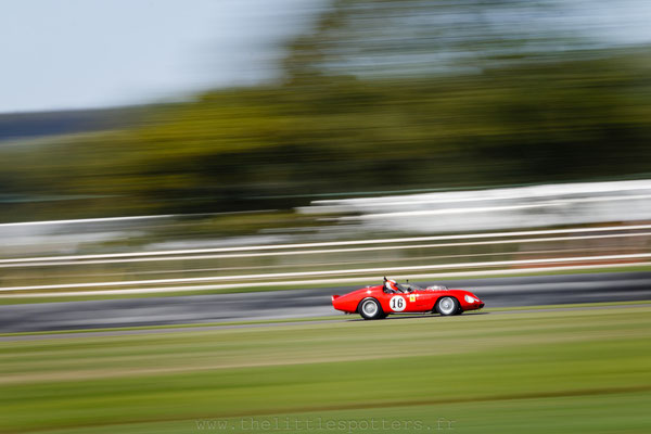 Sam Hancok, Ferrari 246S Dino, Sussex Trophy - Goodwood Revival 2019