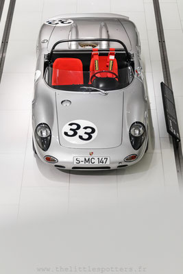 Porsche 718 W RS spyder, Musée Porsche - Exposition Colours of Speed, 50 Jahre Porsche 917