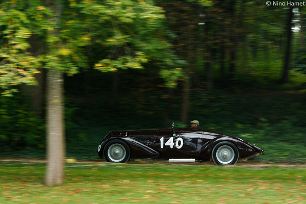 Alfa Romeo 8C 23000 B MM Spider Touring - 1938