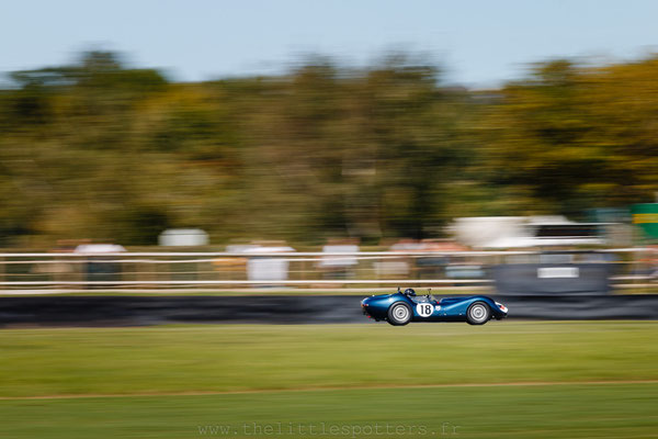 Niall McFadden, Lister Jaguar Knobby, Sussex Trophy - Goodwood Revival 2019