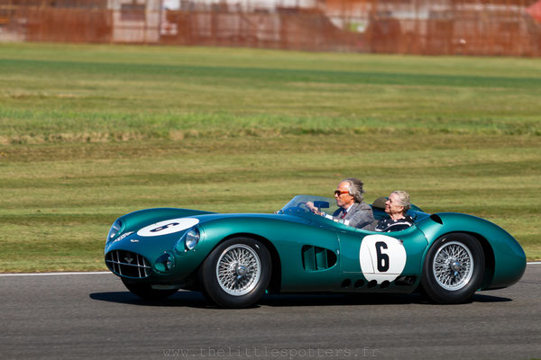 Lord March, Aston Martin DBR1, Sir Stirling Moss Celebration - Goodwood Revival 2019
