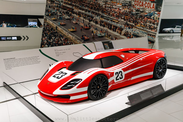 Porsche 917 Concept Study, Musée Porsche - Exposition Colours of Speed, 50 Jahre Porsche 917