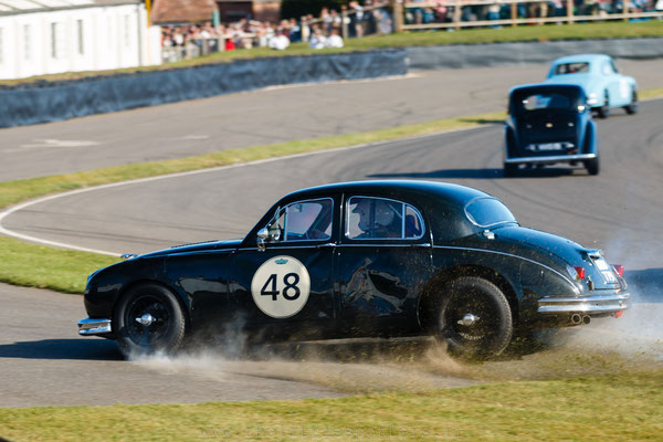 Richard Butterfield / Stuart Graham, Jaguar Mk1, St Mary's Trophy Part 2 - Goodwood Revival 2019