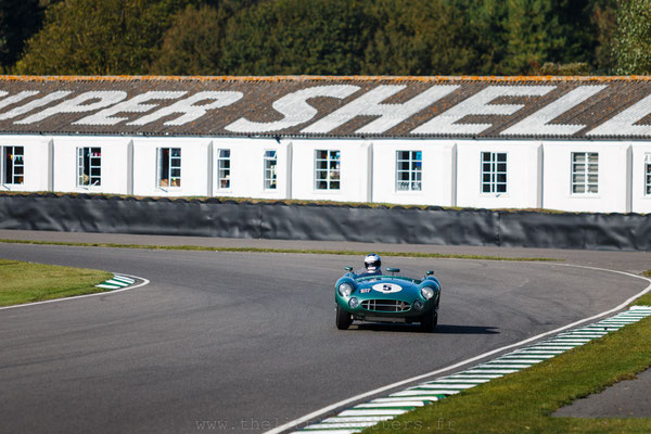 Aston Martin DBR1, 1959 RAC TT Celebration - Goodwood Revival 2019