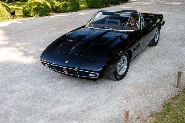 Maserati Ghibli Spyder, estimée entre 975 000 et 1 100 000 euros, elle ne trouvera pas preneur.