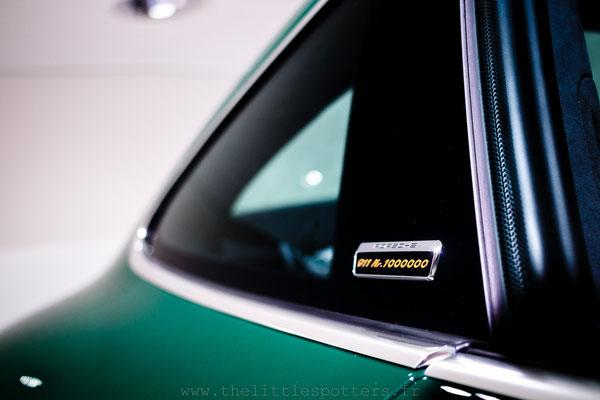 Porsche 911 Millionième, Musée Porsche - Exposition Colours of Speed, 50 Jahre Porsche 917