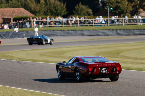 Ford GT40s - Goodwood Revival 2019