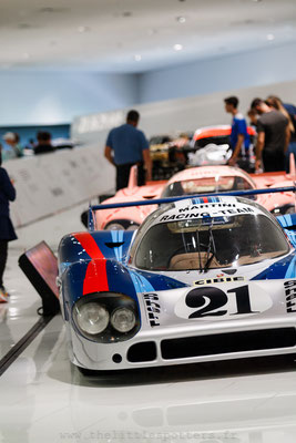 Porsche 917 042, Musée Porsche - Exposition Colours of Speed, 50 Jahre Porsche 917