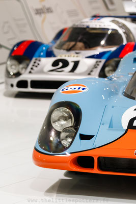 Porsche 917 014/029, 1ere Le Mans 1971, Musée Porsche - Exposition Colours of Speed, 50 Jahre Porsche 917