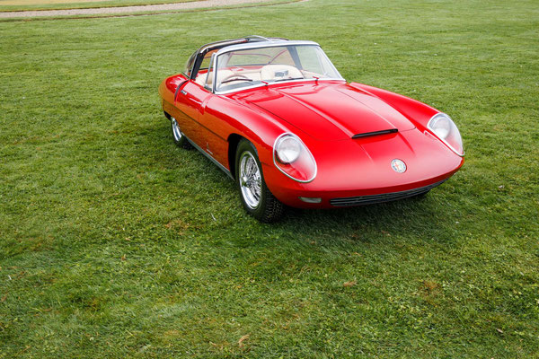 "Alfa Romeo 3000 CM ""Superflow IV"" Pinin Farina - 1960"