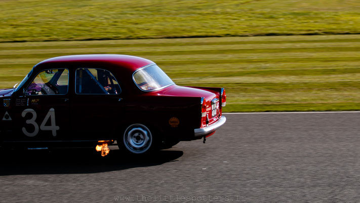 Geoff Gordon / Emanuele Pirro, Alfa Romeo Giulietta Ti, St Mary's Trophy Part 2 - Goodwood Revival 2019