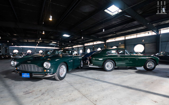 Aston Martin DB4 et DB2