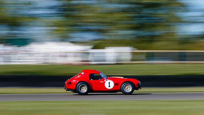 Oliver Bryant / Darren Turner, AC Cobra, RAC TT Celebration - Goodwood Revival 2019