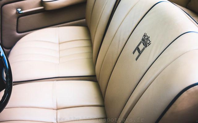 L'intérieur de la Horch 780B