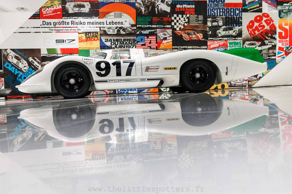 Porsche 917 001, Musée Porsche - Exposition Colours of Speed, 50 Jahre Porsche 917